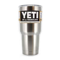 Wholesale 2016 Hot Sale Rambler Tumbler oz YETI Cups Cars Beer Mug Large Capacity Mug Tumblerful by UPS
