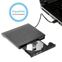 Wholesale New lettore dvd USB3 External CD VCD portable dvd Player Burner Recorder SATA Optical Drive for PC Laptop Computers
