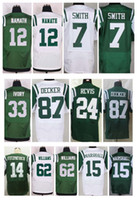 Wholesale NY Jets Jerseys Joe Namath Eric Decker Darron Lee Chris Ivory Nick Mangold Darrelle Revis Brandon Marshall Matt Forte