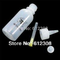 alcohol tips - 5pcs ml Needle Tip Soldering Cleaning Clear Liquid Flux Alcohol Oil Dispenser Plastic Hand Bottle Cleaner DIY Repair