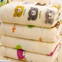 Wholesale New Arrival Comfortable Baby Face Towels Cotton Children Towels Cartoon Face Towels x20cm