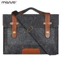asus netbook sleeve - Felt Laptop Shoulder Bag inch Sleeve Cover Netbook Handbag Case for MacBook Air Pro Asus HP