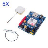 Wholesale SIM808 Development Board Shield V1 GSM GPRS GPS BT Quad band Replace SIM928 Module