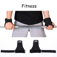 Wholesale Fitness Weight Lifting Gloves Grip Palm Protector Strap Weightlifting Dumbbell Gloves Gym Equipment Weight Lifting Gloves L0269