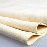 Wholesale towel Free Ship car styling sponge cloth Large Cleaning towel natural chamois towel deerskin towel genuine leather CM CM