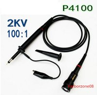 Wholesale X P4100 High Voltage KV V Oscilloscope Scope Passive Clip Probe MHz