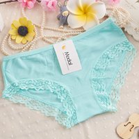 cheap panties - hotsale Waist ladies underwear sexy lace panties modal hip underwear manufacturers cheap price