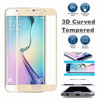 Wholesale Note S7 Edge S7 S6 Edge S6 Edge Note Edge Plus Full Cover D Curved tempered glass mm H film
