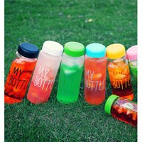 Wholesale 2016 New Hot Style Frosted Water Bottles Fashion Creative Juice Tea Coffee Thermos Readily Lightweight Portable Space Cup