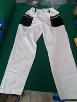 Wholesale Custom workwear trousers white black Mens Pants good quality