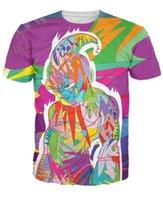 ball tees - Drop Ship Graffiti Style Dragon Ball Z T Shirts Women Men Summer Hipster D t shirt Majin Buu t shirts Casual tee shirts tops