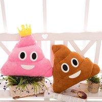Wholesale 2016 New cm cm emoji Plush Toys Soft Stuffed Poop Dolls Cute Pillow Cushion Good PP Cotton