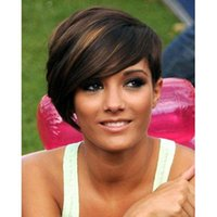 Wholesale quot Short Wigs for Black Women Synthetic Pixie Cut Wig for Women African American Cheap Fake Hair Cute False Heat Resistant