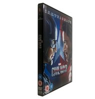 Wholesale High quality Captain America Civil War single dvd new release DHL