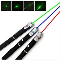 Wholesale Powerful mW nm Green Red Blue Violet light Beam Laser Pointer Pen For SOS Mounting Night Hunting teaching Meeting PPT Xmas gift