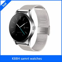 Wholesale Newest K88H Smart Watch Bluetooth With Heart Rate Monitor For IOS And Andoid Unisex Wearable Bluetooth Smart Watch with Waterproof IP54