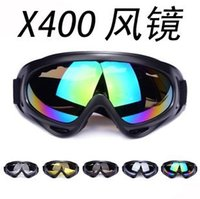 Wholesale Snow Sports Protective Gear Ski Goggles Wind personality sports dazzling colors avant garde Impact resistant