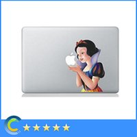 Wholesale For macbook pro skin sticker Snow White laptop decals cover for macbook retina macbook air pro retina inch skin protector
