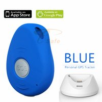 alarm button for elderly - elderly safety personal alarm gps tracker with big sos button for emergency call ET017S
