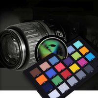 Wholesale Professional Color Card Test Color Balancing Card Palette Board for Superior Digital Color Correction Photography Accessories