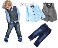 Cheap Boy boy Sets Best Winter Cotton Blends 2016 autumn outfits