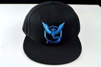 anime snapbacks - Poke mon Go Snapback Men Women Brand Snapback pokémon Headwears Anime Pocket Monster Snapbacks New Caps Fashion Headwears