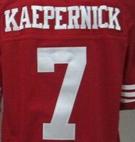authentic kaepernick jersey - 2016 Discounts Colin Kaepernick Jersey Football Jersey Best quality Authentic Jersey Size M XXXL Accept Mix Order
