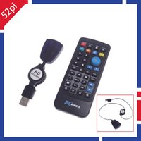 Wholesale USB Wireless IR Remote Control with Mouse for Raspberry Pi XBMC Media Center
