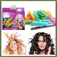 magic roller - DIY Magic Leverag Hair Curler Roller Magic Circle Hair Styling Rollers Curlers Leverag perm set