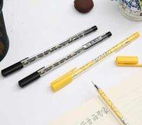 banana uses - AD0 mm transparent banana school office use gel pen piece