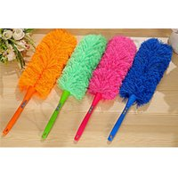 Wholesale New Arrival PC Long design ultrafine fiber household cleaning car Dust duster feather brush cleaning dust