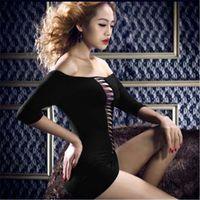Wholesale 2016 Women Sexy Lingerie Corset With G string Dress Underwear Sleepwear Plus Size Hot Sale High Quality