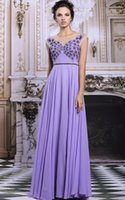Wholesale Long Evening Dress New Grace Karin Sleeveless Sexy V Back Elegant Formal Dresses Composite Filament Embroidery Evening Gowns