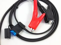 alligator clip sizes - Retail alligator clip Power Cable with fuse pin B size for leica SR GPS Surveying