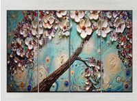 artists flowers - Shenzhen Skilful Artists Handmade Group Flower Knife Oil Painting for Bedroom Hotel Cafe Decoration