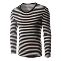 animal imprinting - New Autumn And Winter Men s Pullover Sweater Thicker Plush Sweater Classic Striped Imprinting Long Sleeved Cotton