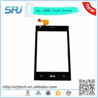 Wholesale High Quality Own S3030 Touch Screen Digitizer Sensor Glass Replacement Parts Touchscreen Panel