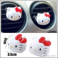Wholesale Hot Sales Air Freshener Perfume Diffuser for Car Perfume Holder Plastic Hello Kitty Air Freshener Cleaner In Car