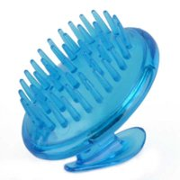 Wholesale New Super Proffessional Silicone Head Hair Scalp Shampoo Brush Comb Massager For Body Cleaning Tools Cheap massage weight