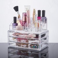 Wholesale 2016 New Fashion Beauty Acrylic Cosmetic Organizer acrylic organizer drawers storage makeup organizer with drawers YOUR BEST CHOICE