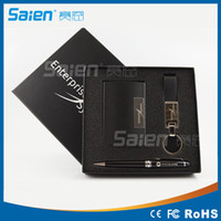 Wholesale High end Company Gifts Business Travel Portable Tool Kits including Name Card Holder Key Chain and Ballpoint Pen