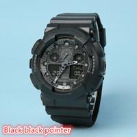 analog boxes - 2016 top quality brand relogio no box men s sports watches Luxury brand men watch LED chronograph wristwatch military watch digital watch