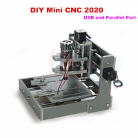 Wholesale DIY in USB and Parallel port CNC Router machine With English installation manual