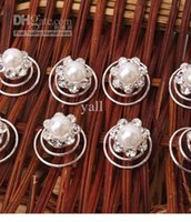 Wholesale Pearl Hair Twists Spins Pins Perfect Gift Sets S01583
