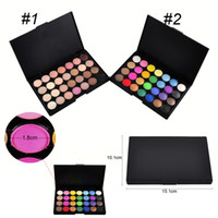 Wholesale 28 Colors Makeup Eyeshadow Palette New Professional Eye Shadow Shimmer Matter Somky Eye Shadow