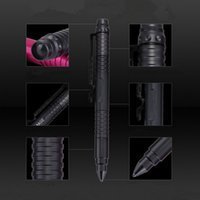 Wholesale 4 in Portable Tactical Pen Penlight Mini LED Flashlight Car Emergency Safety Hammer For Camping Hiking