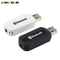 Wholesale USB Car Bluetooth Adapter Audio Music Receiver Dongle mm Port Auto AUX Streaming A2DP Kit for Speaker Phone Headphone
