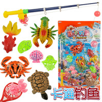 alpinia oxyphylla - Best Sellers Children Magnetic Square Animal Go Fishing Toys Simulation Go Fishing Rod Parenting Game Alpinia Oxyphylla Toys