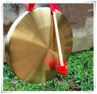 Wholesale 2016 New low pitch gong with hammer sisals gonfalons Chinese traditional Musical instrumen