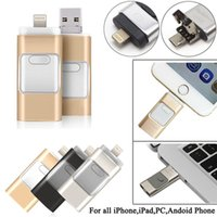 apple memory sticks - NEW3 IN i Flash Drive USB GB USB U Disk pin Memory Stick For iPhone S C plus plus